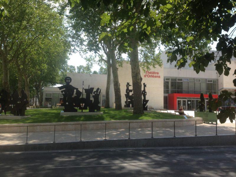 Parvis du théâtre, Orléans